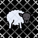 Sheep Goat Wool Icon