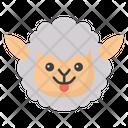 Sheep Face Emoji Icon