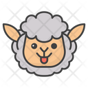 Sheep Face Emoji Icon