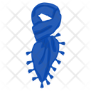 Sheer Scarf Neckwear Scarf Icon