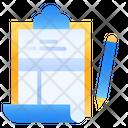 Sheet List Name Icon