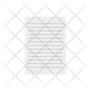 Sheet Document Paper Icon
