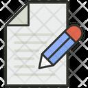 Pen Paper Signature Icon