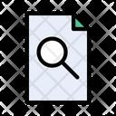 File Document Search Icon