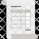 Sheet Report Statistics Icon