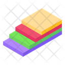 Sheet Stack Fomic Sheets Stationery Icon