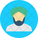 Sheikh Muslim Arabic Icon