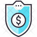 Sheild Protection Securiy Icon