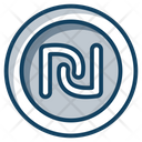 Shekel Coin Currency Icon