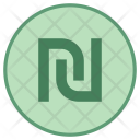 Shekel Currency Coin Icon