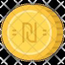 Shekel Cash Coin Icon