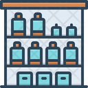 Shelf Storage Arranging Icon