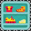 Shelf Supermarket Household Icon