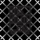 Shelf Rack Icon