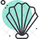 Sea Pearl Seashell Icon