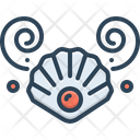 Shell Pearl Open Icon