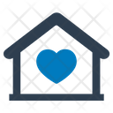 Charity Home Love Icon