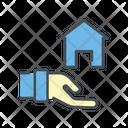 Shelter Doante Home Home Donation Icon