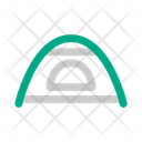 Shelter Tent Hiking Icon