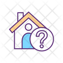 Shelter Absence Find Home Home Icon