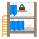 Shelves Bed Bunk Icon