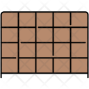 Multiple Small Shelves Icon