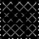 Shelving Unit Storage Icon