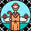 Shepherd Shepherder Sleepman Icon
