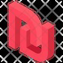 Sheqel Sheqel Sign Sheqel Symbol Icon