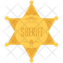 Sheriff Badge Wild Icon