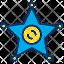Star Award Police Icon