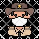 Sheriff Police Avatar Icon