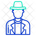 Sheriff Police Officer Icon
