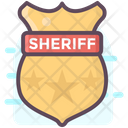 Sheriff Badge Sheriff Logo Sheriff Insignia Icon