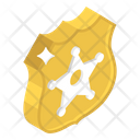 Sheriff Badge Icon