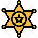 Sheriffs Badge Gang Icon