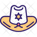 Sheriffs Hat Icon
