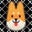 Shiba Inu Dog Puppy Icon