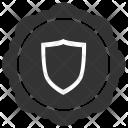 Shield Label Sticker Icon