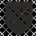 Shield Crown Politics Icon