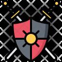Shield Sword Icon