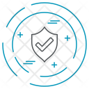 Shield Protected Data Icon