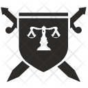 Shield Sword Fight Icon