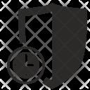 Shield Guard Time Icon