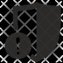 Guard Warning Shield Icon