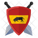 Sword Force Shield Icon