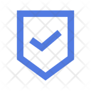 Certified Shield Protection Icon