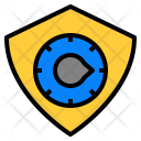 Security Privacy Bitcoin Icon