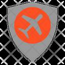 Shield Flight Airplane Icon