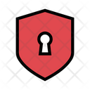Shield Lock Security Icon
